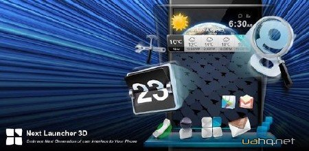Next Launcher 3D 1.50 Full (Android 2.3+/2013) RUS + Themes Pack