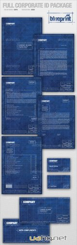 Full Corporate ID Package � old BLUEPRINT