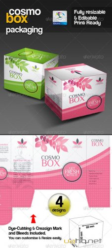 CosmoBox Multipurpose Packaging