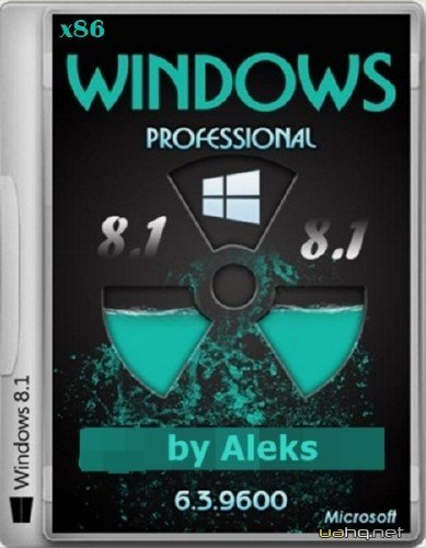 Windows 8.1 Professional by Aleks v.31.01.2014 (x86/2014/RUS)