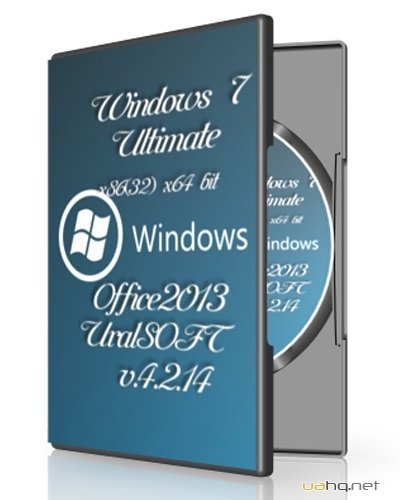 Windows 7 x86 Ultimate x64 & Office2013 UralSOFT v.4.2.14 (2014/RUS)