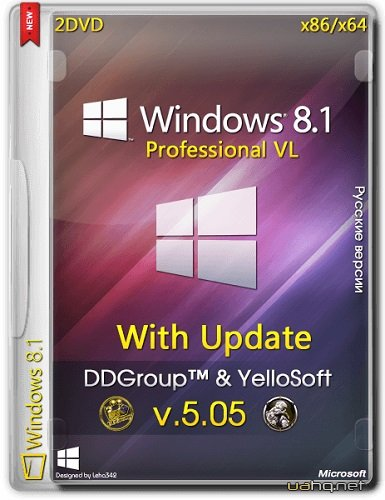 Windows 8.1 Pro vl x86 x64 with Update [v.05.05] by DDGroup™ & YelloSoft