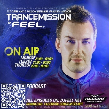 DJ Feel - TranceMission Top 25 Of September 2014 (02-10-2014)