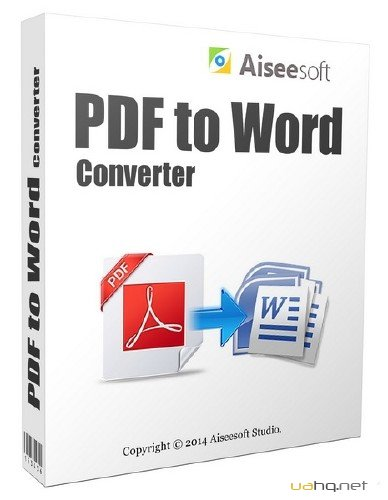 Aiseesoft PDF to Word Converter 3.2.16.32550 + Rus