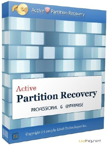 Active Partition Recovery Professional 11.0.3