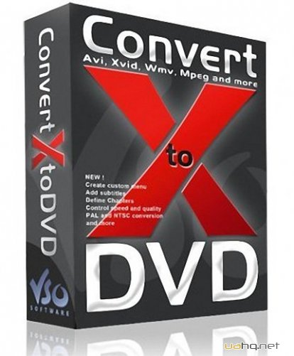 VSO ConvertXtoDVD 5.2.0.39 Final + Portable