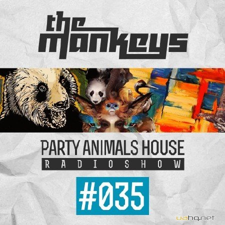 The Mankeys - Party Animals House Radioshow 035 (2014)
