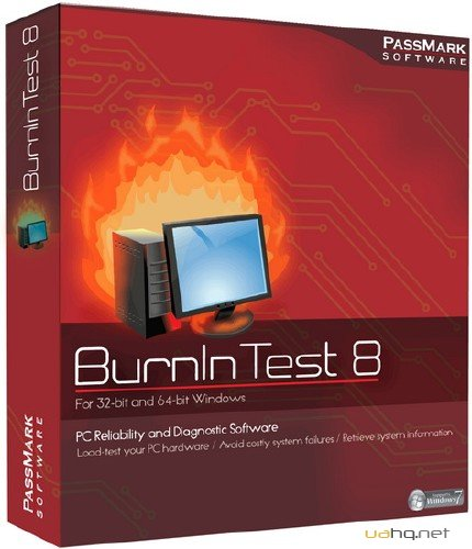 PassMark BurnInTest Professional 8.0 Build 1031 (2015/ENG)