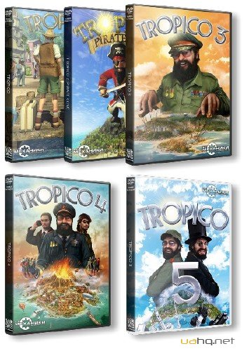 Tropico: Anthology (2001-2014/RUS/ENG/RePack by R. G. Механіки)