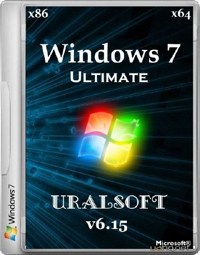Windows 7 Ultimate UralSOFT v6.15 (x86/x64/2015/RUS)