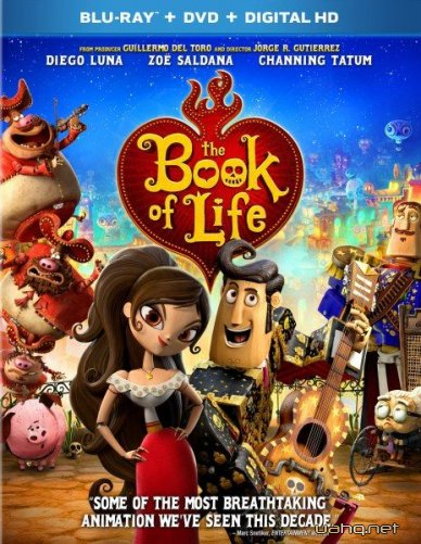 Книга життя / The Book of Life (2014/BDRip 720p/HDRip/1400Mb/700Mb)