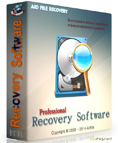 Aidfile Recovery Software Professional 3.6.8.1