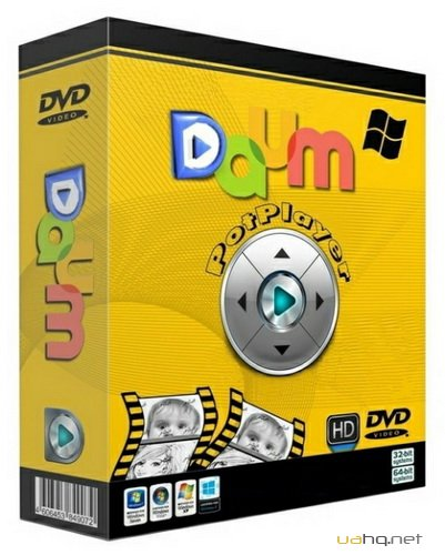 Daum PotPlayer 1.6.52515 Stable RePack/Portable by D!akov
