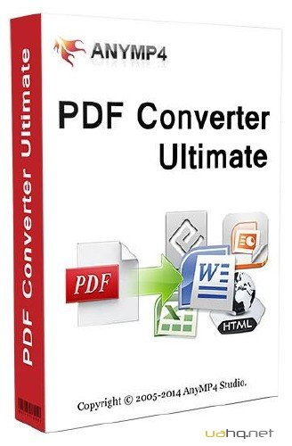 AnyMP4 PDF Converter Ultimate 3.1.52 + Rus