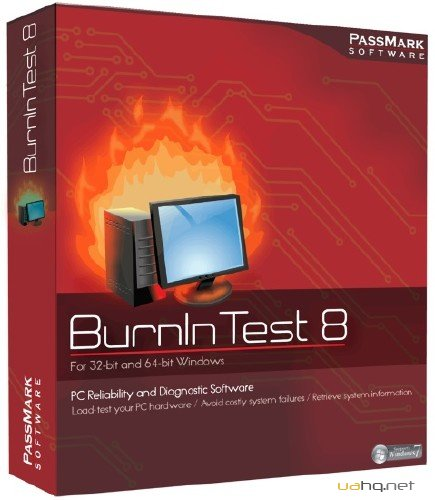 PassMark BurnInTest Pro 8.0 Build 1037