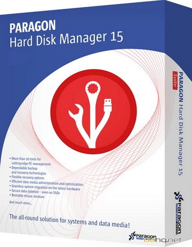 Paragon Hard Disk Manager Pro 15 10.1.25.294 RePack by Diakov
