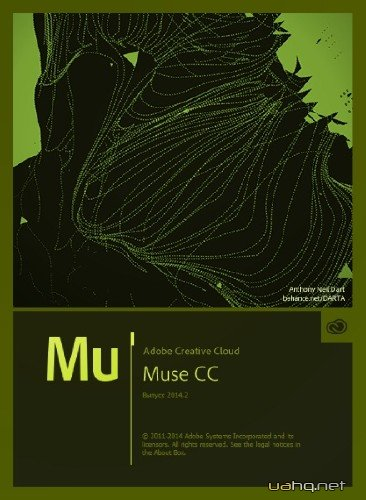 Adobe Muse CC 2014.3.0.1176 RePack by D!akov (2015/RUS/ENG)