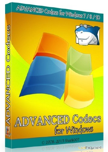 ADVANCED Codecs for Windows 7 / 8 / 10 5.08