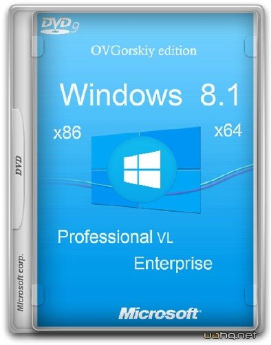 Windows 8.1 Update3 4 in 1 w.BootMenu by OVGorskiy 02.2015 DVD9 (x86/x64/2015/RUS)