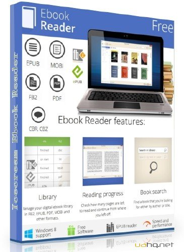 Icecream Ebook Reader 1.53 Rus Portable by SamDel