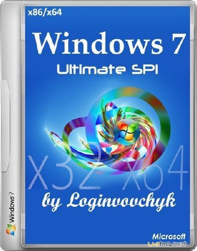 Windows 7 Ultimate SP1 by Loginvovchyk 02.2015 (x86/x64/RUS/2015)