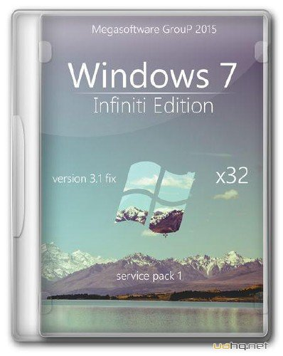 Windows 7 Ultimate Infiniti Edition v.3.1 fix 24.02.2015 (x86/RUS)