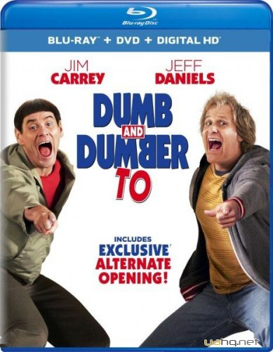 Тупой и еще тупее 2 / Dumb and Dumber To (2014/BDRip 720p/HDRip/2100Mb/1400Mb/700Mb)