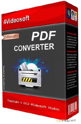 4Videosoft PDF Converter Ultimate 3.1.50 (Ml|Rus)