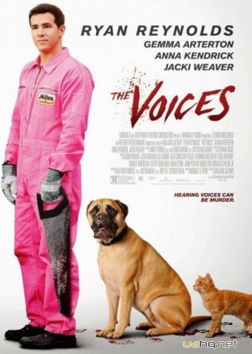 Голоса / The Voices (2014/WEB-DL/720p/WEB-DLRip/1.46Gb/745Mb)