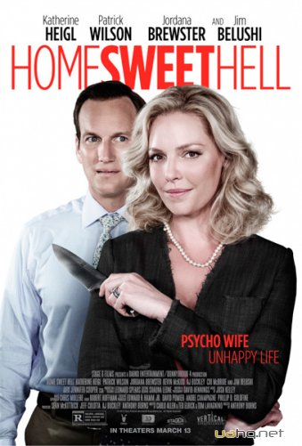 Север ада / Home Sweet Hell (2015/WEB-DLRip/1.46Gb/750Mb)