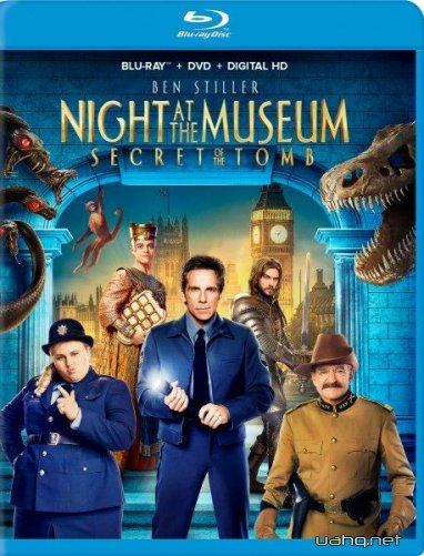 Ніч у музеї: Секрет гробниці / Night at the Museum: Secret of the Tomb (2014/BDRip 720p/HDRip/1400Mb/700Mb)