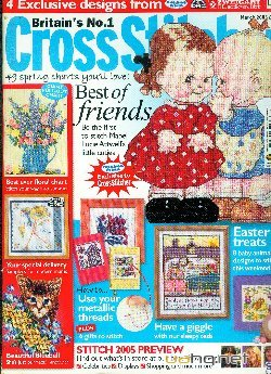 Cross Stitcher  Issue № 158 March - 2005