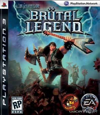 Brutal Legend (2009/PS3/ENG)