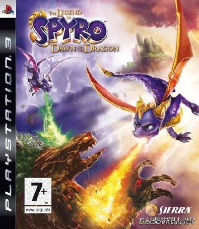 The Legend of Spyro: Dawn of the Dragon (2008/PS3/RUS)